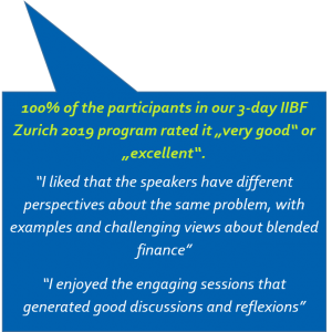 IIBF Zurich 2019 testimonials and rating